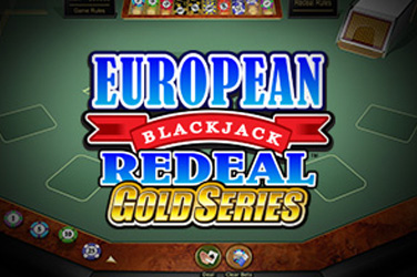 European blackjack redeal gold